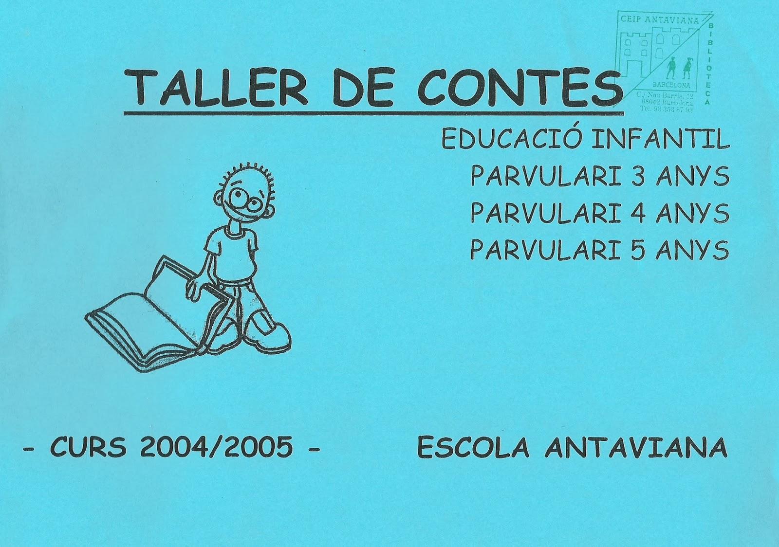 http://issuu.com/blocsdantaviana/docs/dossier_sencer_contes_04-05