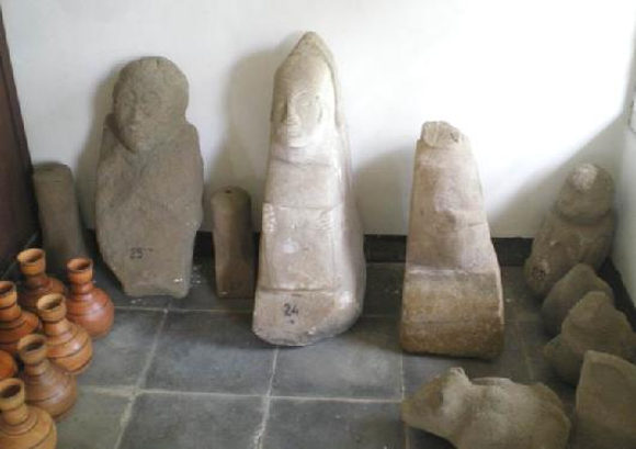 Koleksi Benda Purbakala di Situs Jambansari