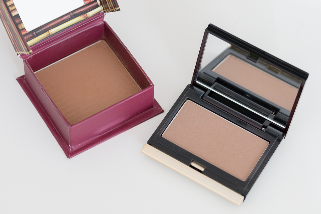 Benefit Hoola Bronzer und Kevin Aucoin Sculpting Powder Medium