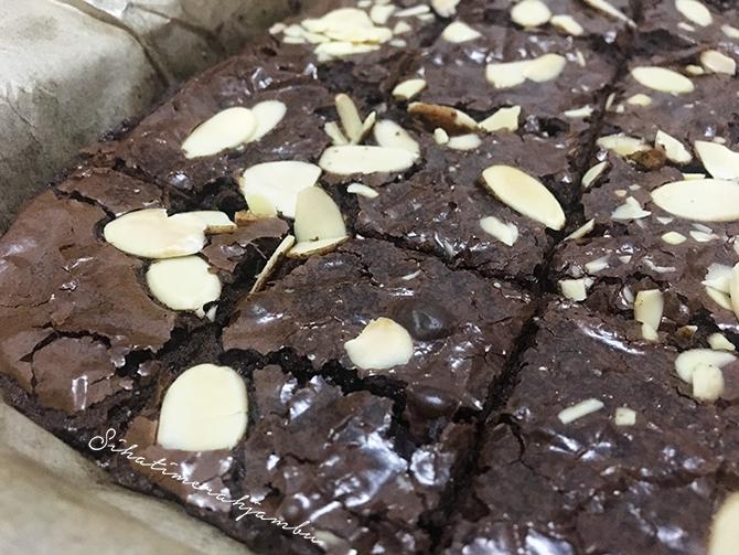 Resepi Brownies Sukatan Cawan