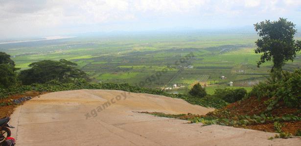 View gunung gajah pemangkat