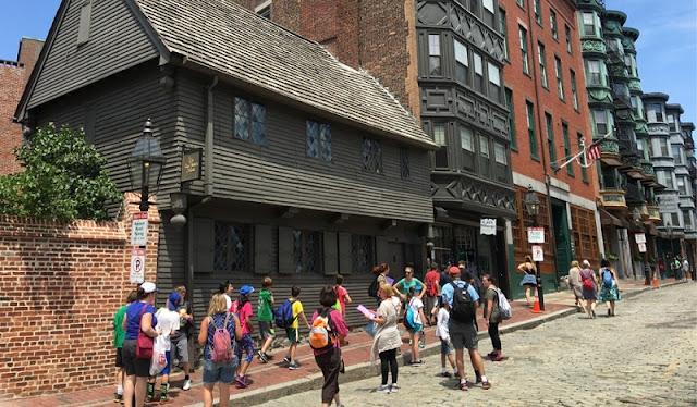 The Freedom Trail em Boston