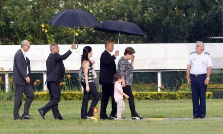 Uma foto de Obama e outra de Dilma que explicam muita coisa