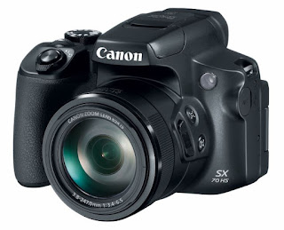 New Canon PowerShot SX70 HS Superzoom Released