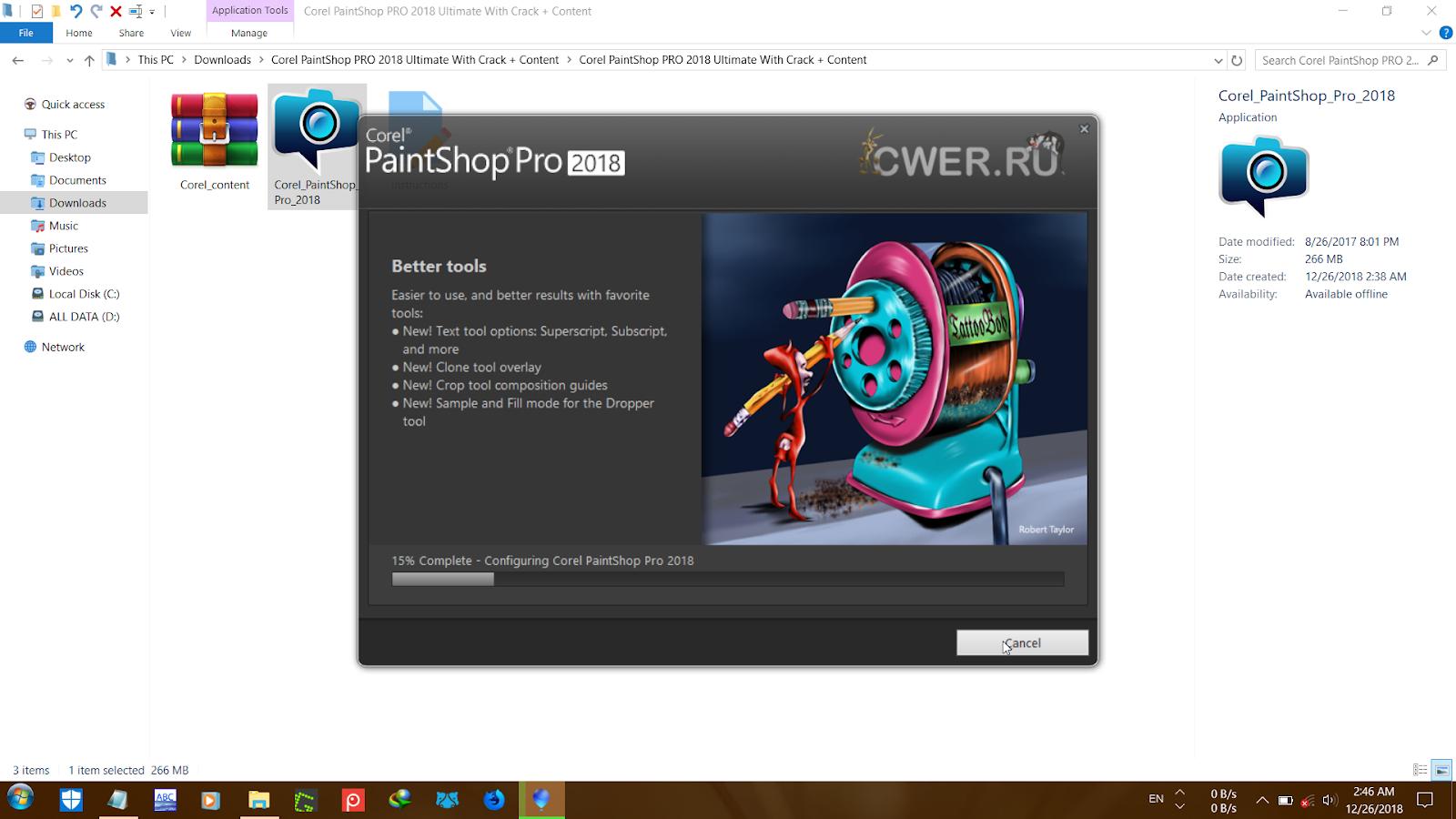 aloneghost-xz : Corel PaintShop PRO 2018 Ultimate With Crack + Content