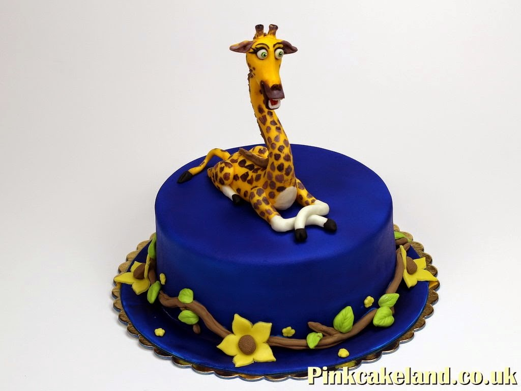 Giraffe Birthday Cake in London