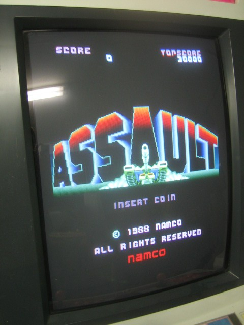 Confessions of an Arcade Addict: Assault