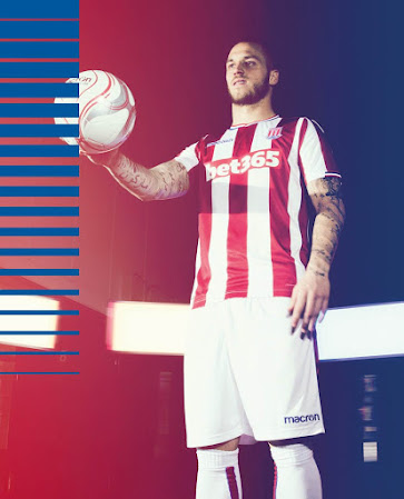e1dabafeaa4 The new Stoke City 2017-18 home kit will be debuted in the last home match  of the season against Arsenal.
