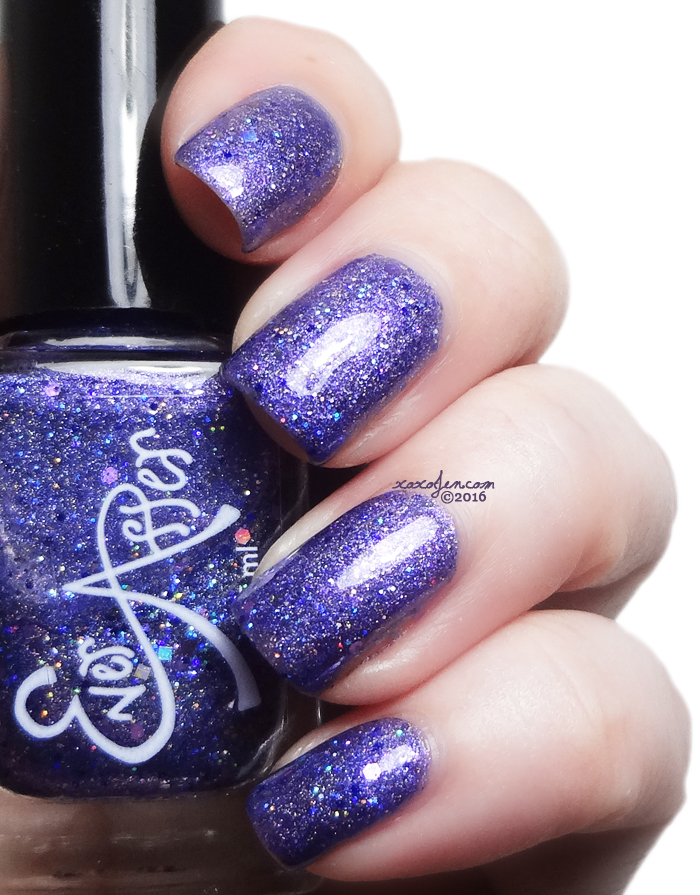 xoxoJen's swatch of Ever After Vivid Violet Voyage