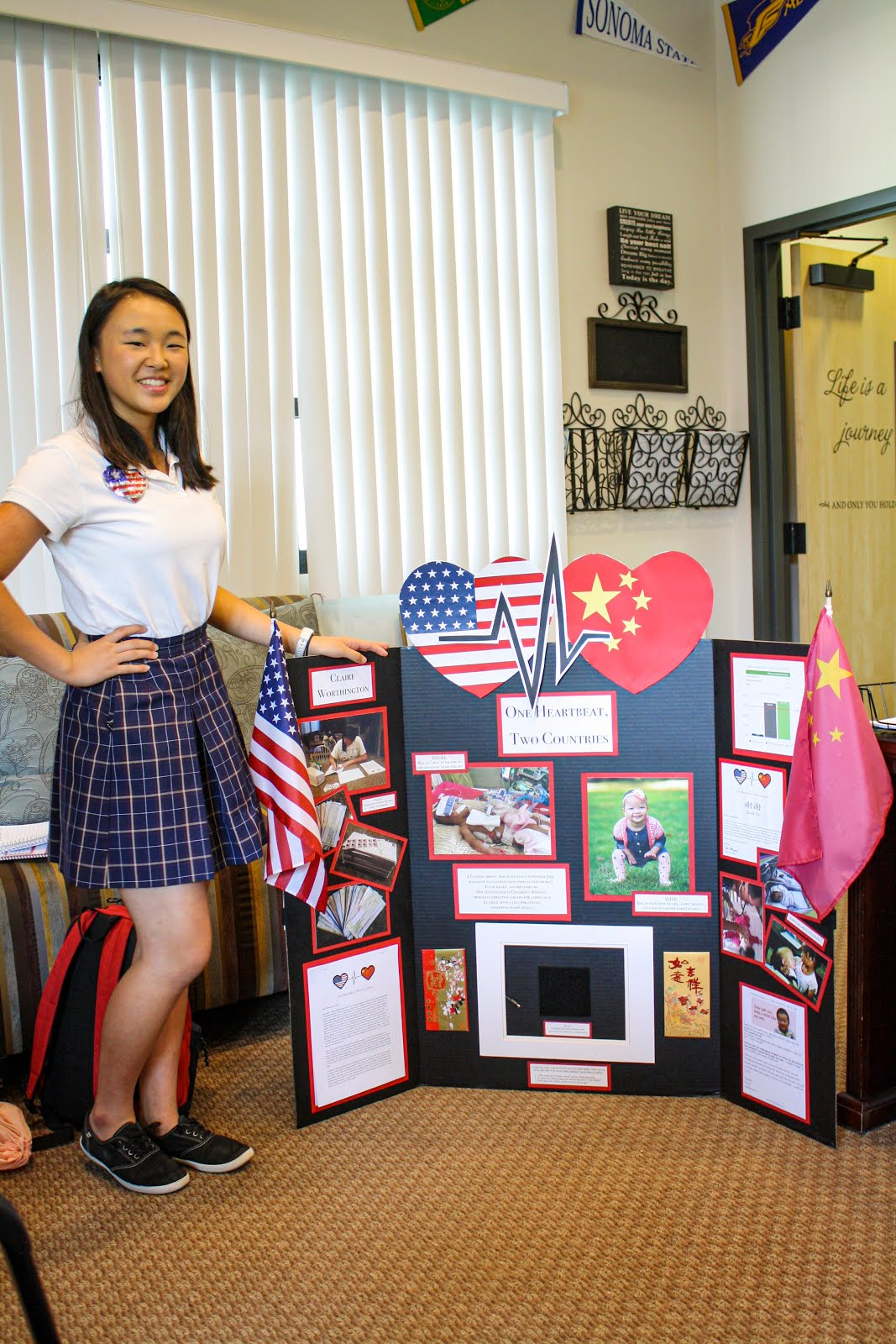 Anne Duarte Escort santa rosa academy challenges students to give back