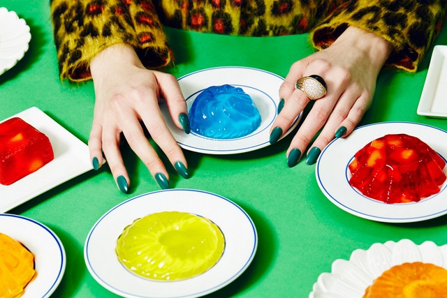 © JUCO Photo (Julia Galdo and Cody Cloud) | Jell-O (Paper Mag - Nowstalgia)