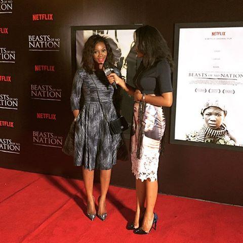 Genevieve Nnaji at Beast Of No Nation Lagos Premiere