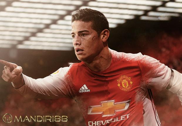 Tawaran Inter Milan Ditolak James Rodriguez