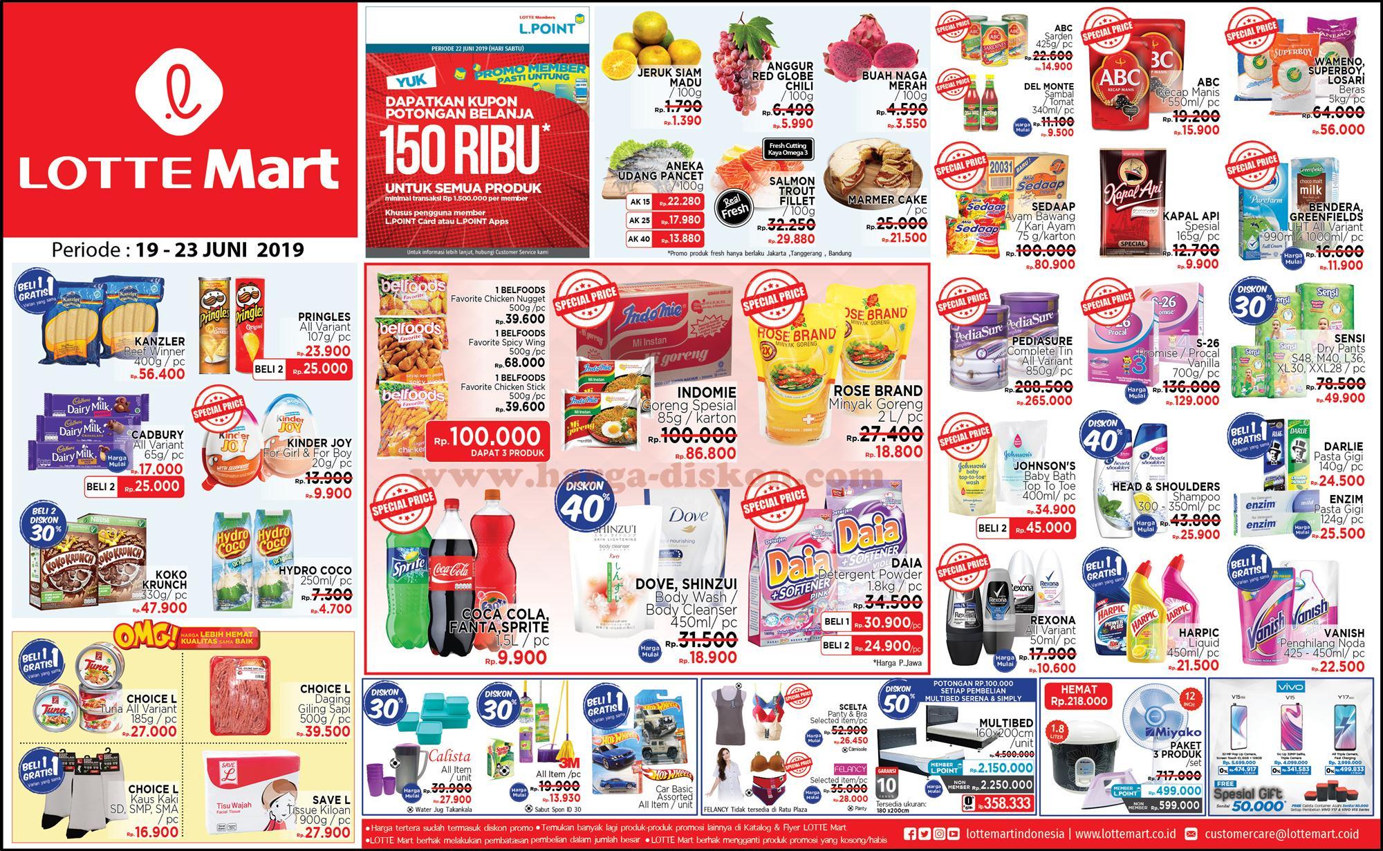 Katalog Promo JSM Lottemart Terbaru Minggu Ini Periode 19 – 23 Juni 2019