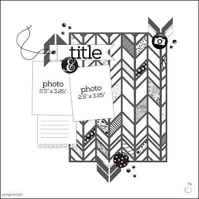 scrapbooking sketch free