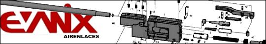Evanix diagramas, Evanix planos y lista de partes