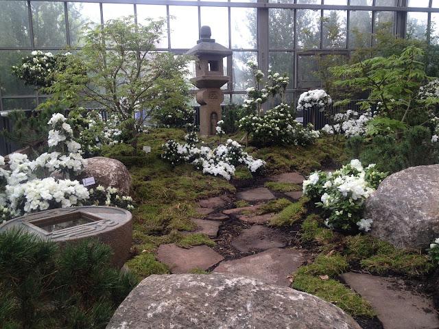 Frühling japanischer Garten