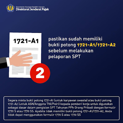 Bukti Potong PPh Pasal 21 PNS atau Karyawan DJP Online