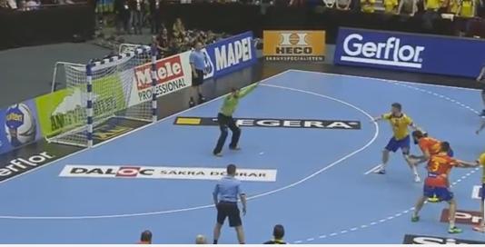 decisivo 7 metros para Suecia clasificación olímpica