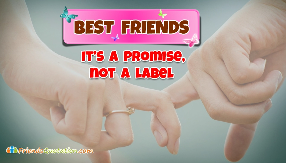 Short Dialog About Friendship Promised Friends Beetwen To 4 Four