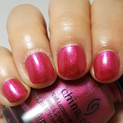 China Glaze Seas and Greetings - The More the Berrier | Kat Stays Polished