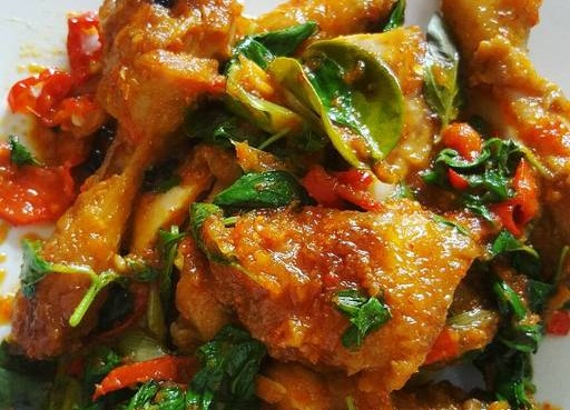 Resep Ayam Rica Rica Daun Kemangi