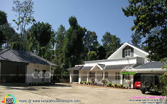 Completed English villa at coorg