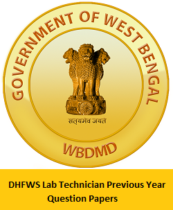 DHFWS Lab Technician Previous Year Question Papers PDF
