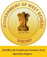 DHFWS Lab Technician Previous Year Question Papers