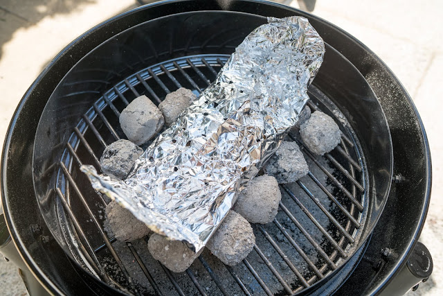 Pulled Pork aus dem Char-Broil Bullet Smoker 11
