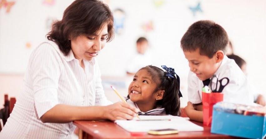 MINEDU: Casi todos los docentes de inicial tuvieron buenos resultados en Evaluación de Desempeño - www.minedu.gob.pe