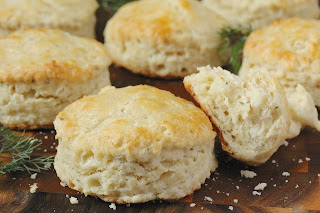 Garlic and Herbs Boursin Biscuits