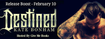 Release Boost for Destined by Kate Bonham with Giveaway !!