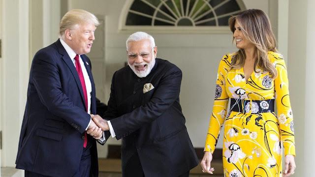 Modi Trump Meet : Bon Homie or mere gratitude?