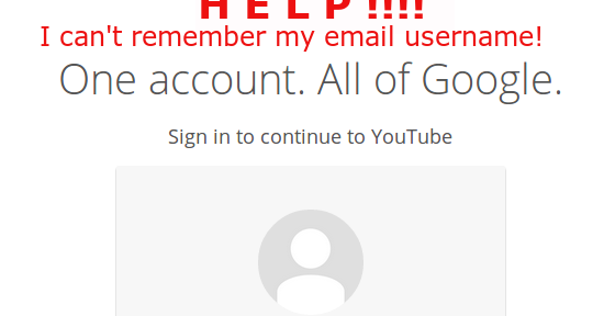 I can't sign in to my YouTube channel or Blogger blog! How to