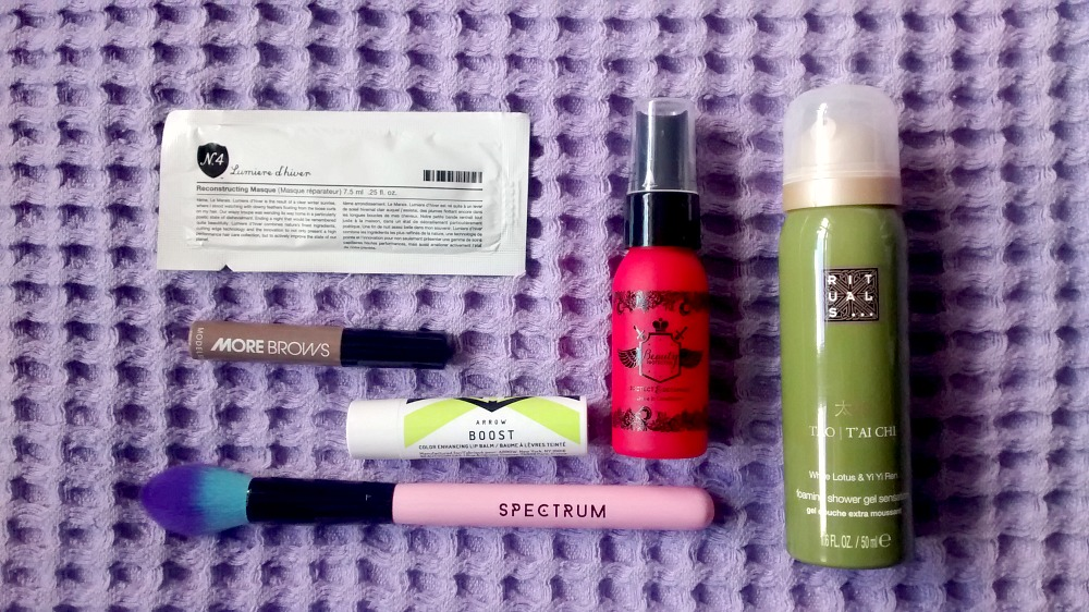 March Birchbox Products