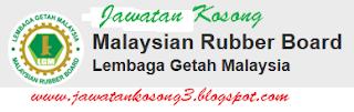 Jawatan Kosong Terkini Lembaga Getah malaysia