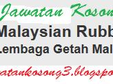 Jawatan Kosong Terkini Lembaga Getah malaysia 28 November 2016