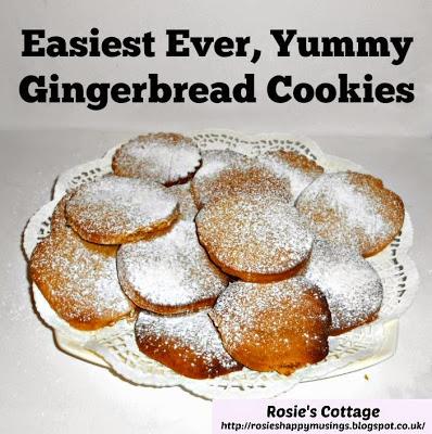 Easiest, Tastiest, Gingerbread Cookie Recipe