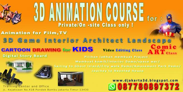 Kursus Animasi Anak di Jakarta