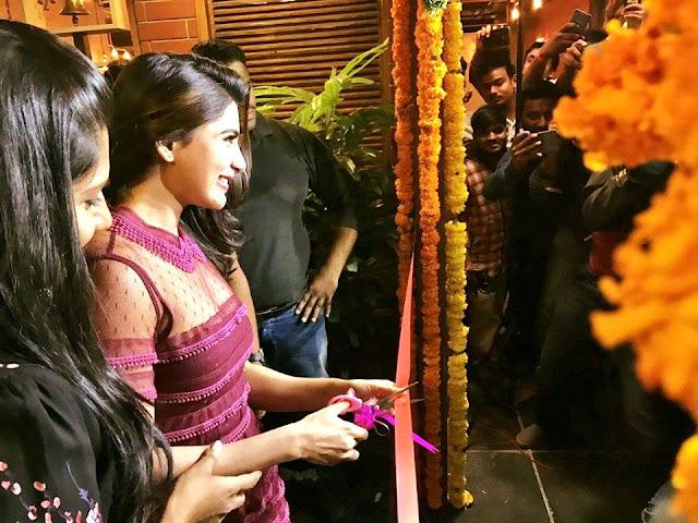 Actress Samantha at TGrill Restaurant Launch Photos