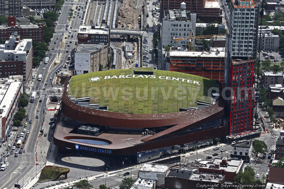 Marketing opportunity: a (smaller) Barclays Center roof ...