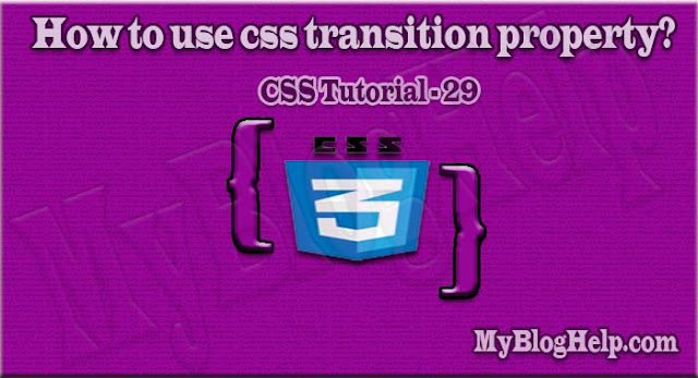 css transition property