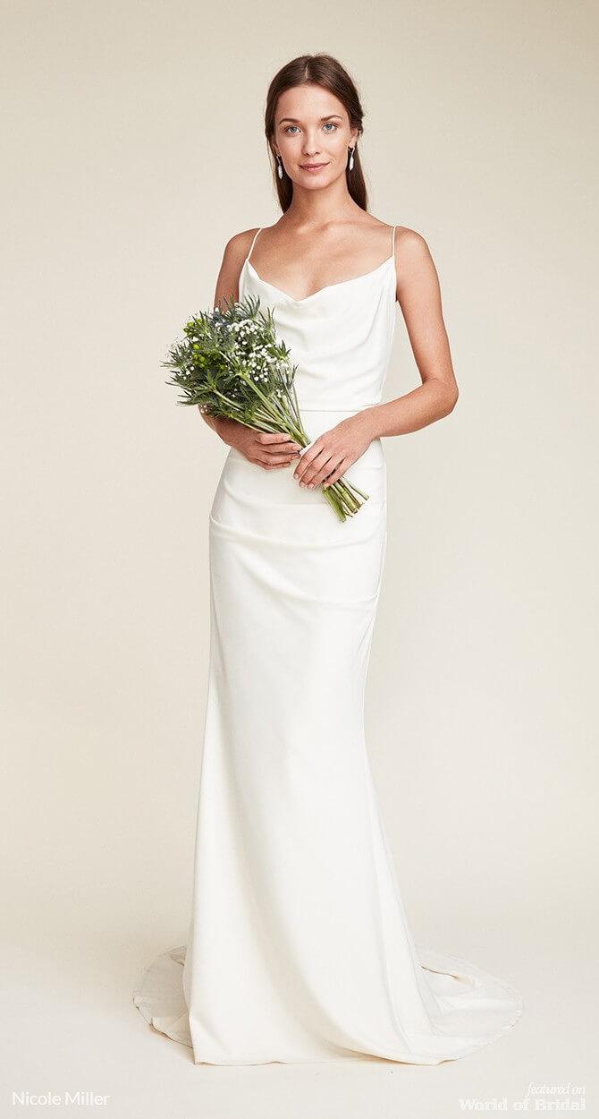 Nicole miller 2018 wedding dresses world of bridal Nicole wedding dress 2018