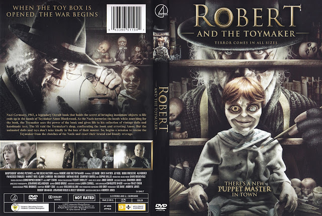 Robert And The Toymaker DVD Cover