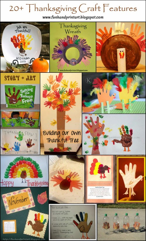Handprint And Footprint Turkey Craft For Toddlers