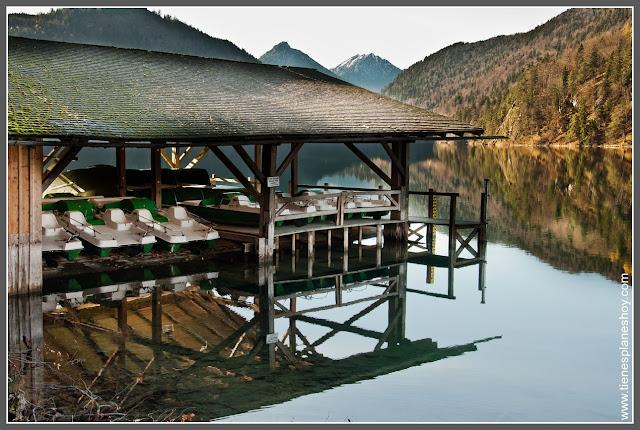 Alpsee Baviera (Alemania)