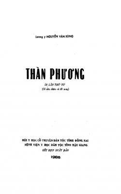 Thần phương - Nguyễn Văn Xứng