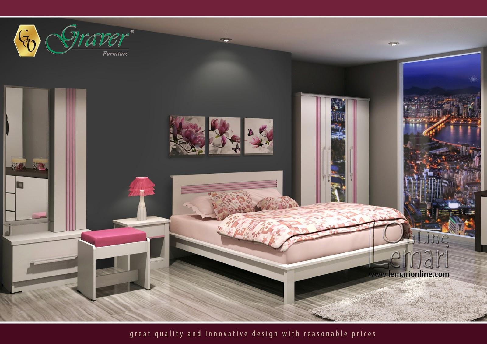 Kebersihan ruangan bisa terpancar elegant melalui warna yang cerah