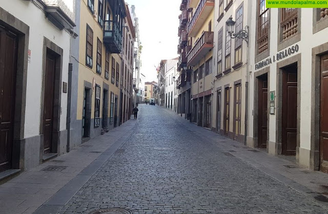 El Ayuntamiento de Santa Cruz de La Palma reduce a la mínima expresión los servicios públicos por el coronavirus